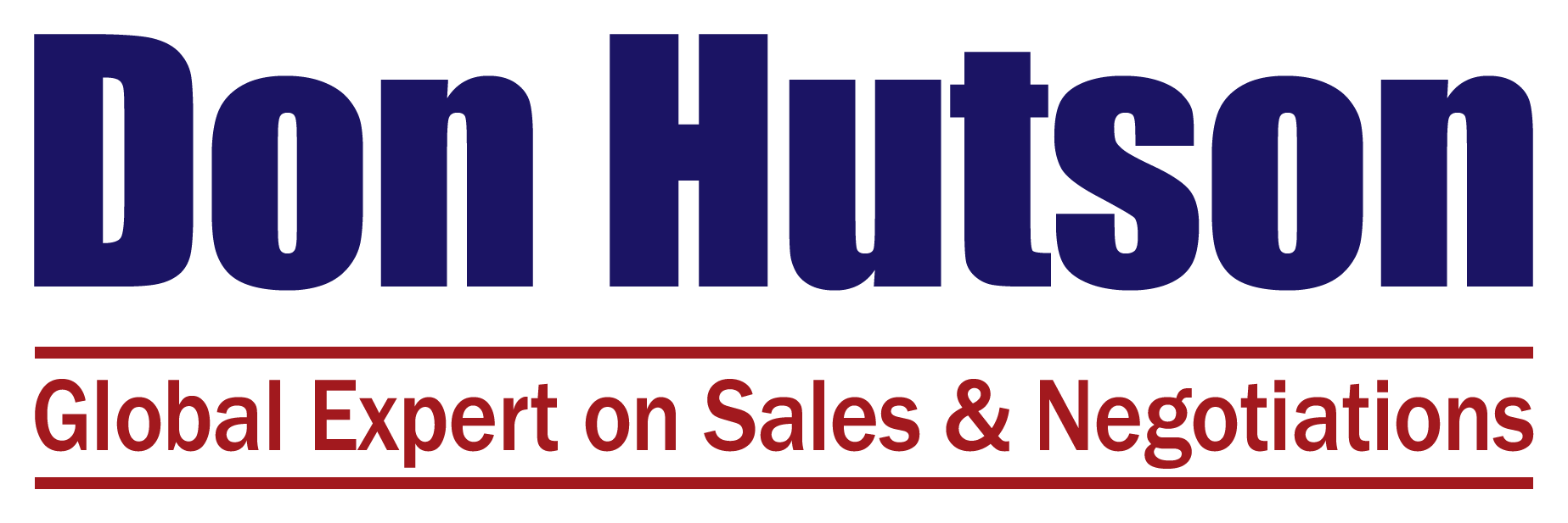 Don Hutson | Expert on Selling Value, Negotiations & Entrepreneurship